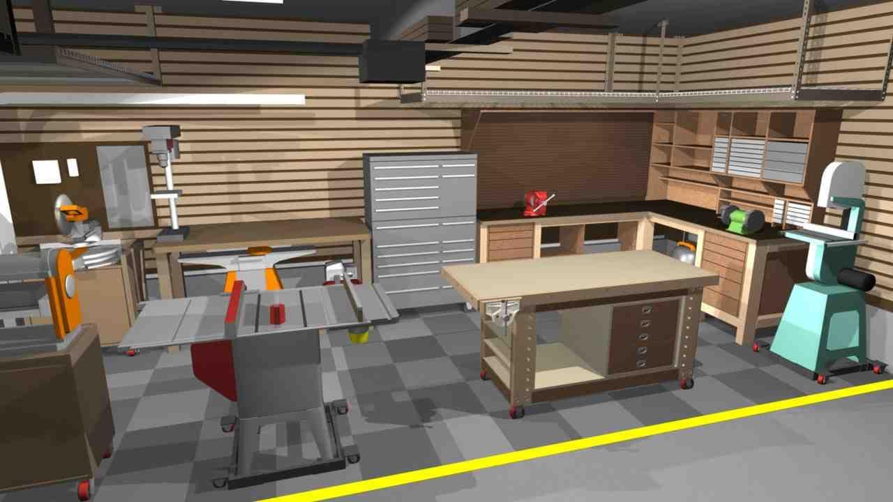 Garage Shop Designs Garage Design Garage Workshop Layout Workbench Designs