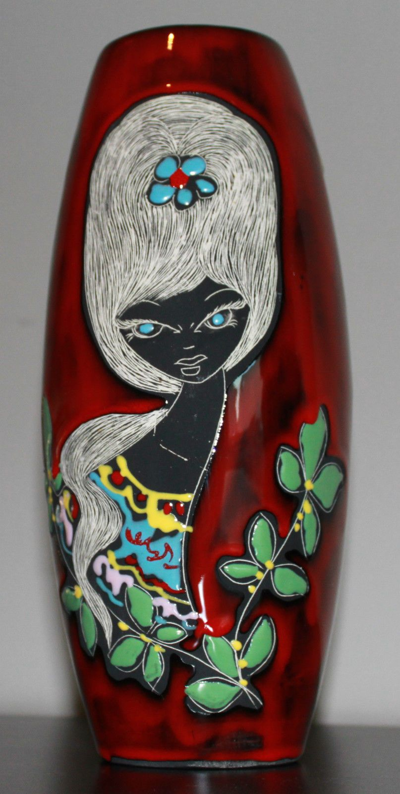 San Marino - Mid century modern vase by Titano | Ceramics of The ...