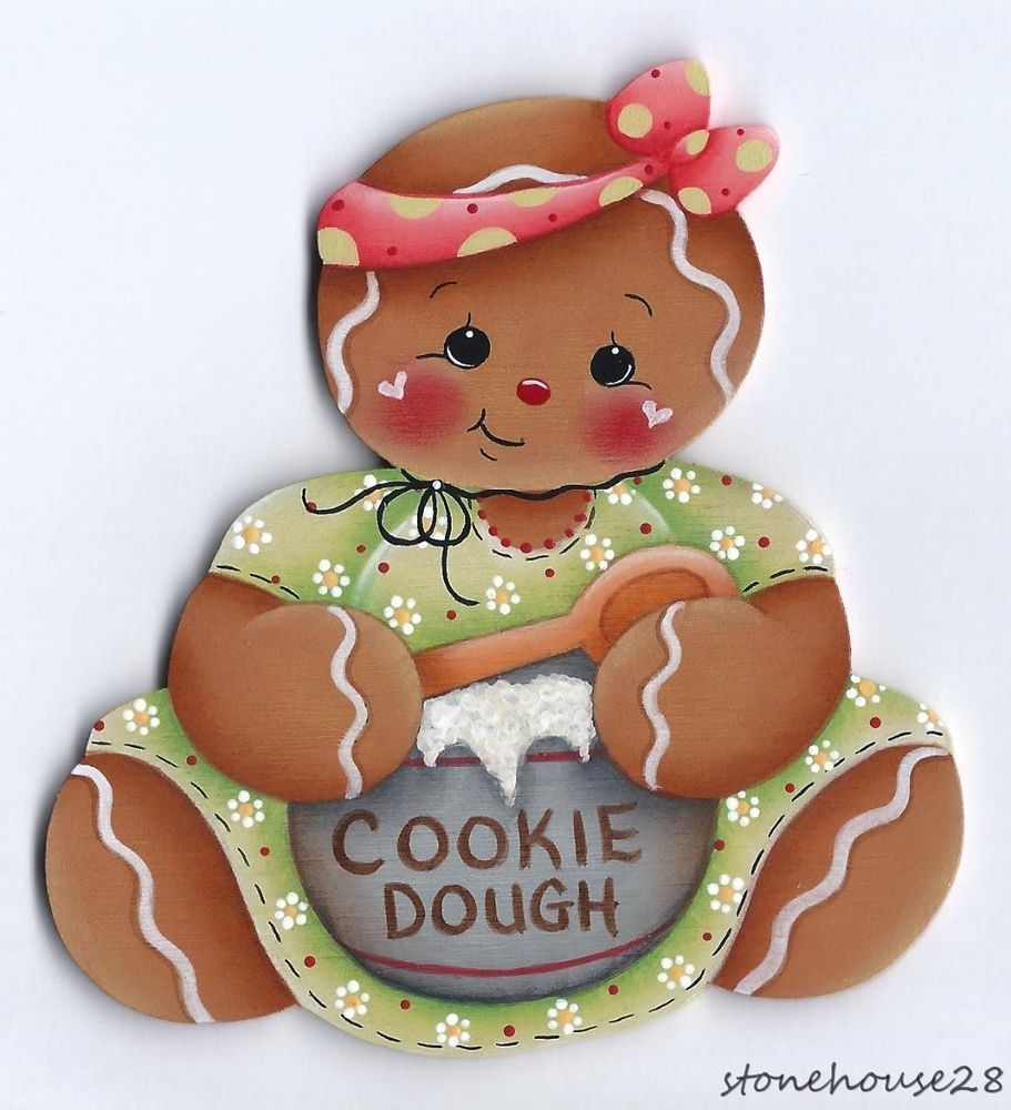 Ginger Desenho intended for hp gingerbread cookie dough fridge magnet #handpainted | gingers