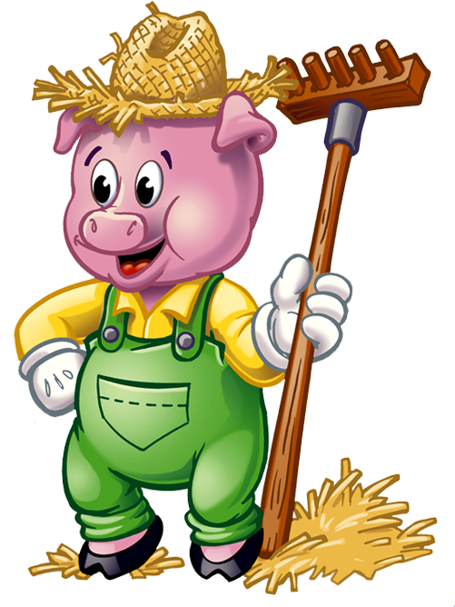 os tr s porquinhos imprimibles pinterest clip art baby cards rh pinterest co uk the three little pigs clipart three little pigs clipart free