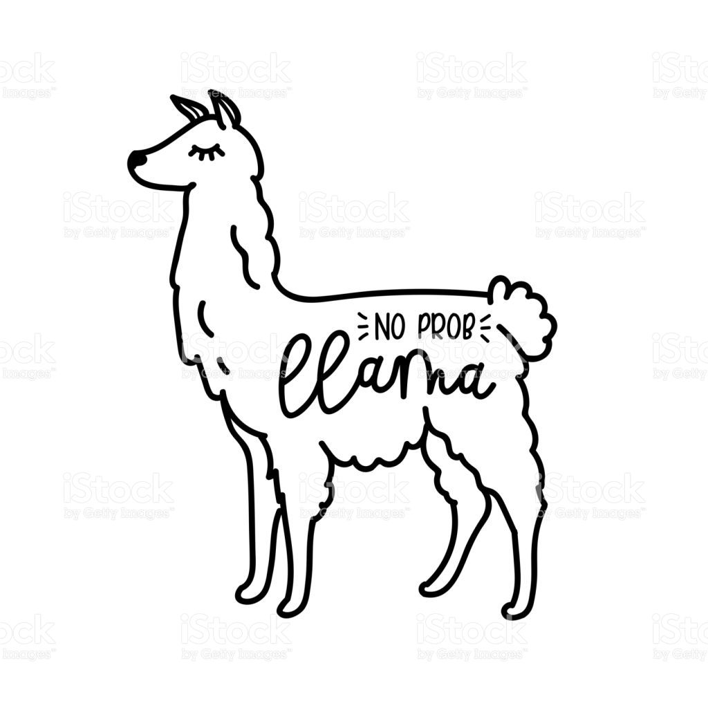 40+ Llama Head Clipart Free Cut Out