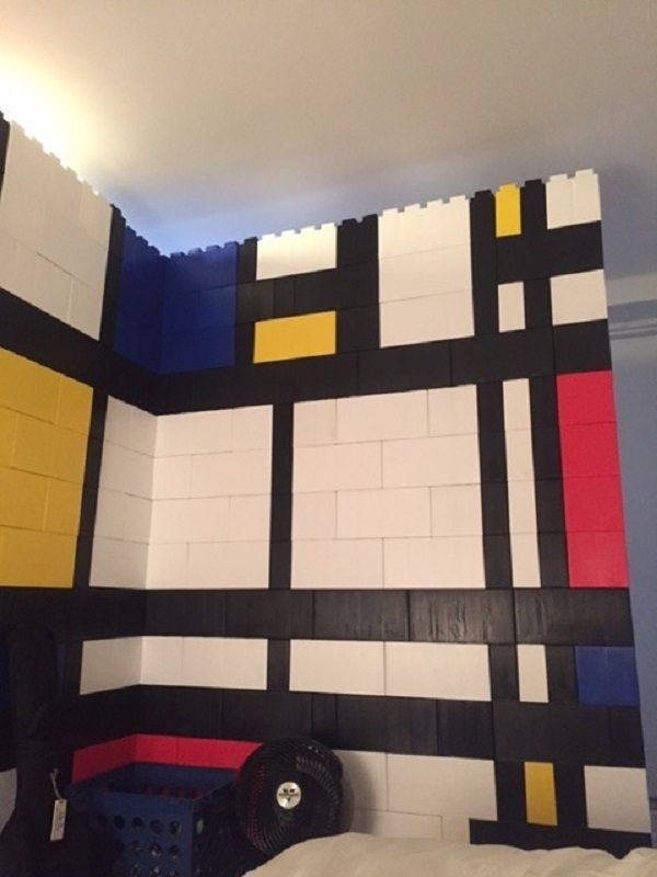Giant Lego Bricks Allow You To Build Full Size Furniture And