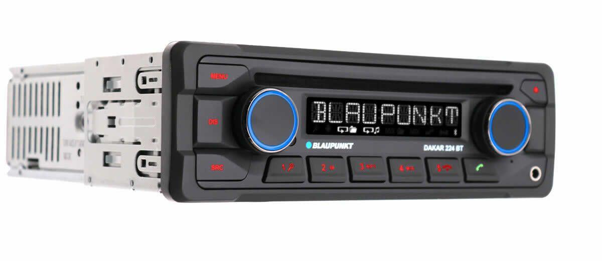 Blaupunkt DAKAR 224BT CD Bluetooth 24v Truck Heavy Duty Radio USB Handsfree AUX