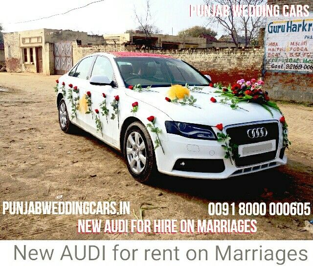 Audi For Hire On Weddings Car Rental Available On