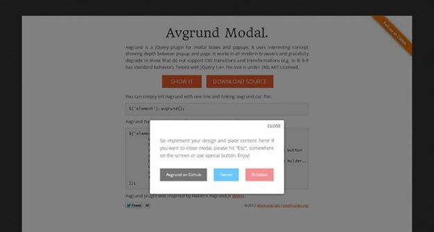 15 best jquery modal plugins for developers design pop up, modal15 best jquery modal plugins for developers modal window, popup, programming, coding,