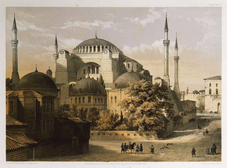 константинополь открытки 19 века пояснил журналистам