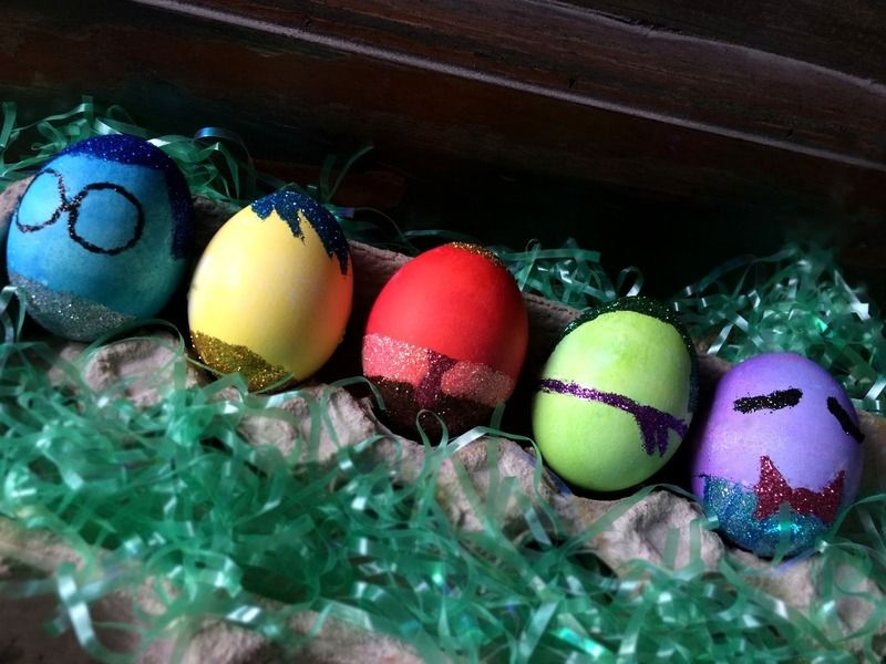 Egg Character Design Ideas : Pop culture easter eggs featuring kids favorite characters