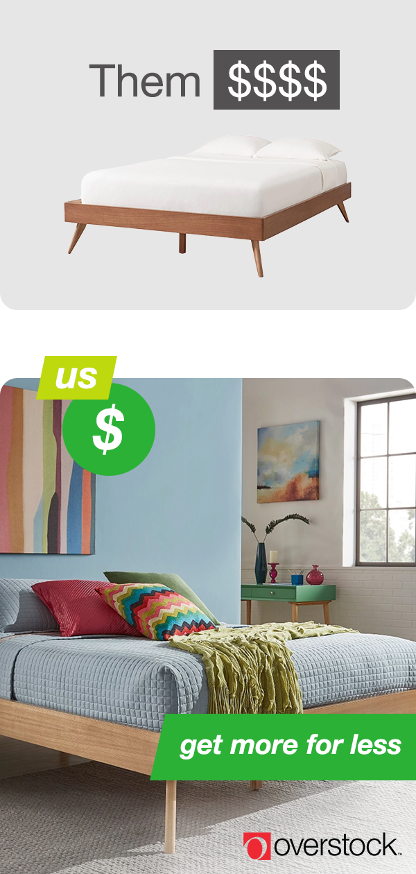 Overstock Bedroom Sets: Complete Your Bedroom For Less When You Shop With Us