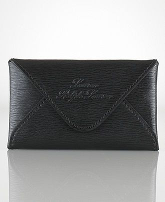 the best attitude ed29e cacfc Lauren Ralph Lauren Handbag, Newbury Envelope Card Case - Handbags ...