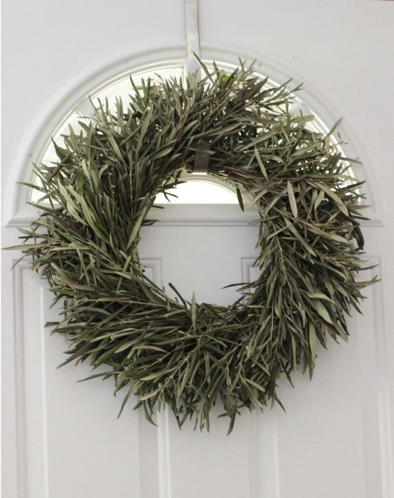 Olive Branch Wreath 20 Quot Dried Green Wreath Wreaths