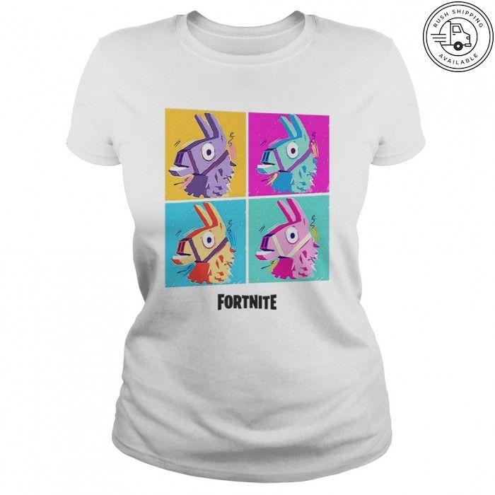 Fortnite Four Llamas T Shirt Hoodie Daddy Shark Doo Doo Doo T