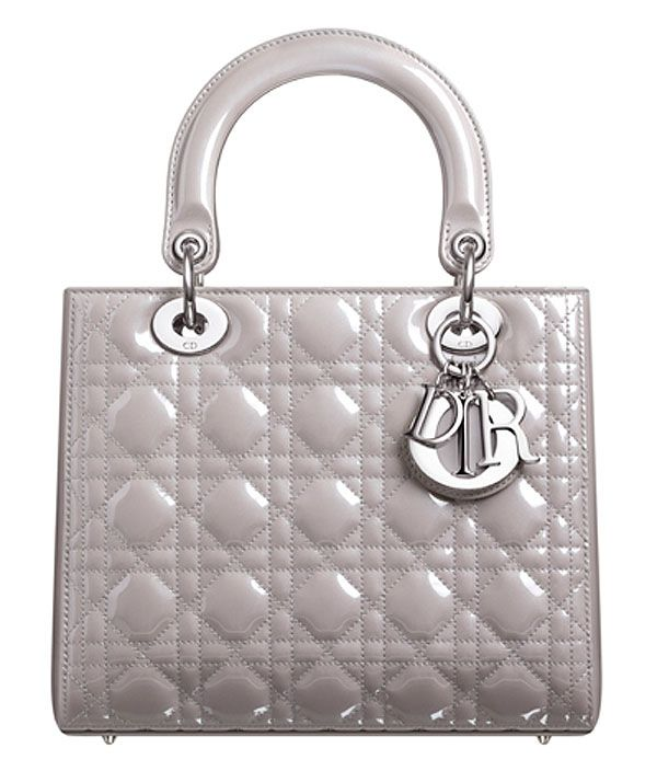 The Lady Dior with pearlized grey patent leather.   Bag It in 2019 ... 955d95cbab