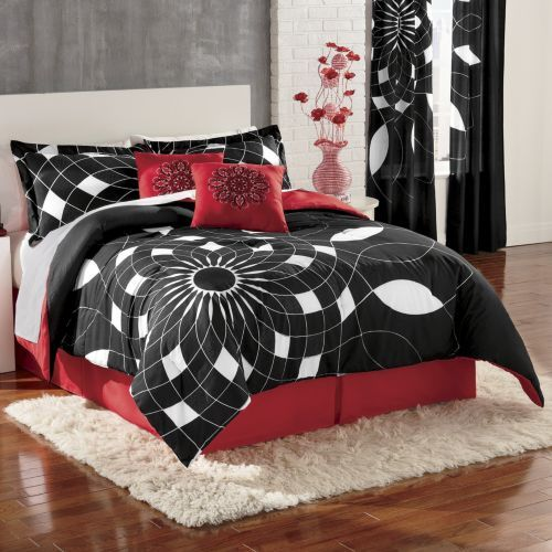 Spirals Comforter Set, Panel Pair and Pillow from Ginny's ®
