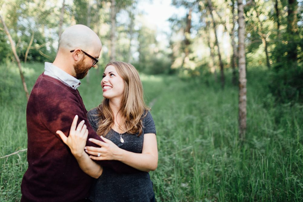 Inglewood and Fish Creek Park Engagement Katie and Geoff
