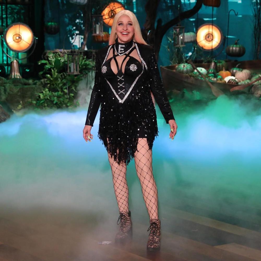 """Ellen Degeneres Halloween Costume 2020 Ellen DeGeneres on Instagram: """"Don't miss my costume tomorrow. Any"""