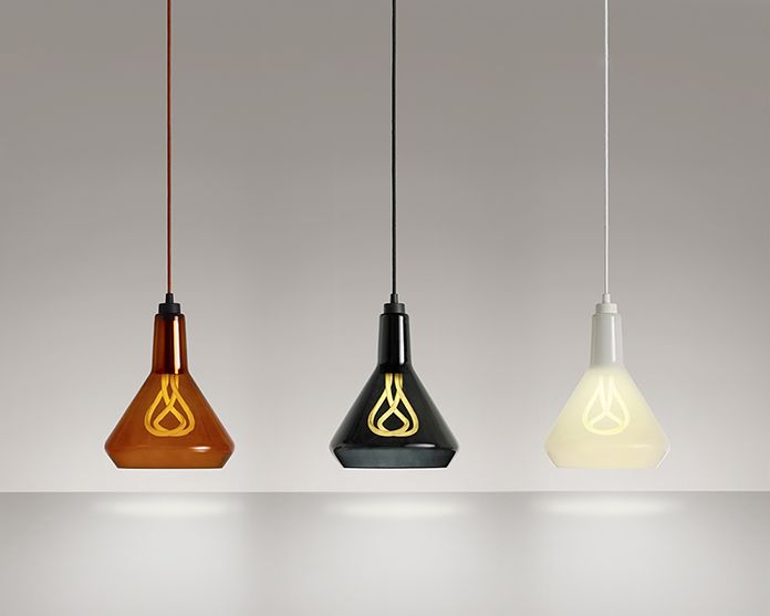 The New Plumen 001 In Plumen Drop Top Lamp Shade (A)