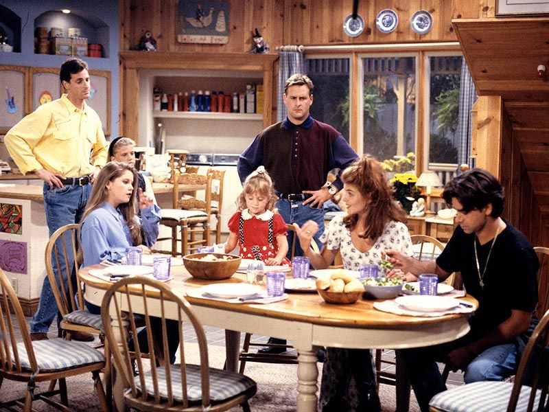 Full House and Friends: What the Homes Would Cost   Full house and ...
