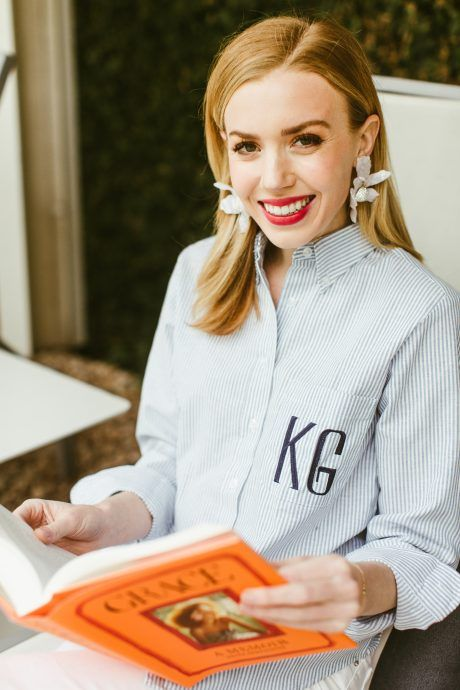 Read about the girl who's got amazing style and is loving her new oxford by Katie Kime!