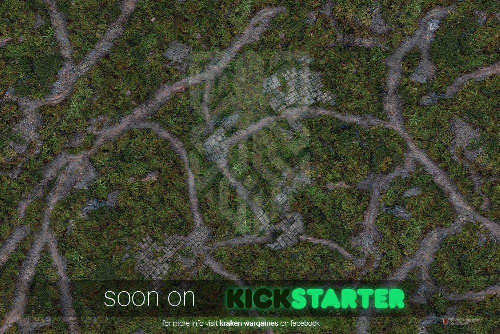 Kraken Wargames Launching Soon With Range Of Gaming Mats Wargaming Kraken Product Launch