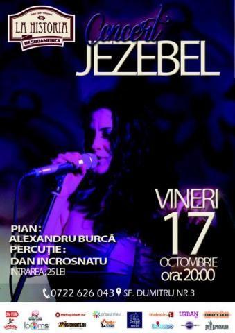 Concert Jezebel | PeLipscani.RO | Ghid dedicat Centrului Vechi | Petreceri in Bucuresti | Sambata seara | Centrul Istoric