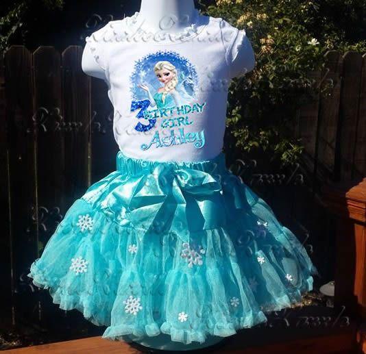 Frozen Elsa Birthday Party Girl Custom by ZizzleZazzle1 on Etsy