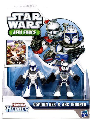 Playskool Star Wars Galactic Heroes Jedi Force ARC TROOPER figure Collection