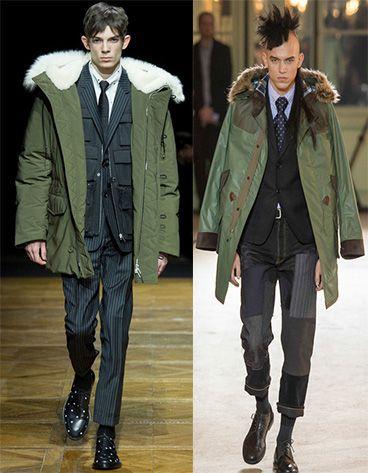Fall/Winter 2014 trends for men by beSleek.com