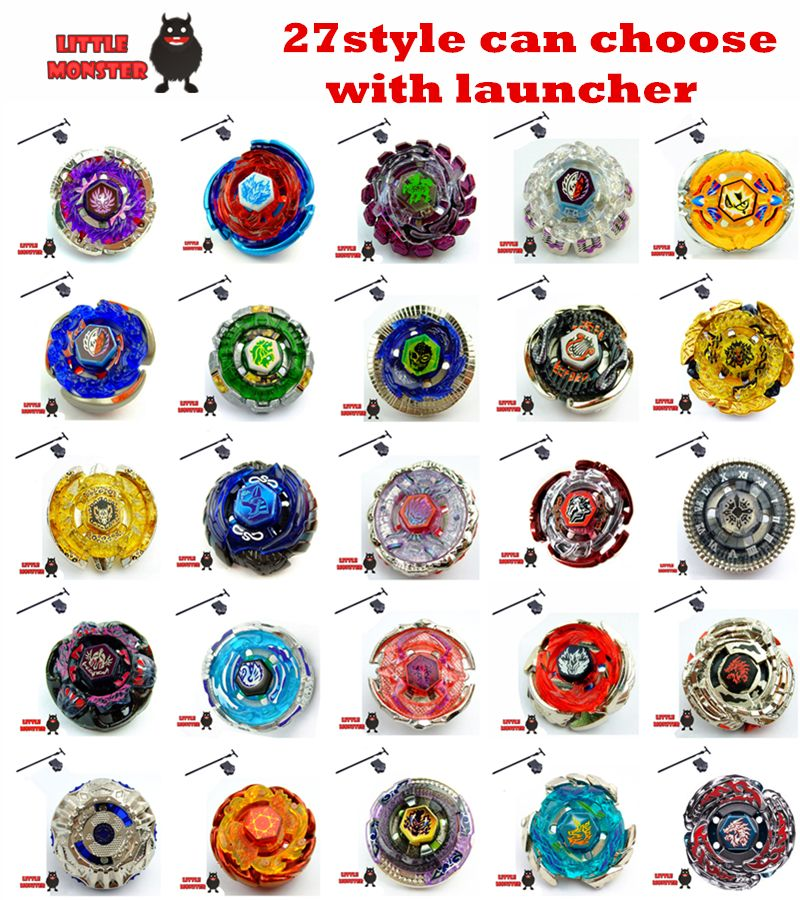 27 style can choose 1pcs Beyblade Metal Fusion 4D System Battle Top ...