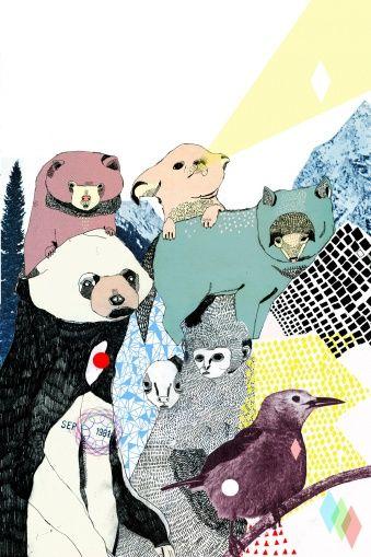 Julia Pott - Wall murals - Photowall http://www.photowall.co.uk/#