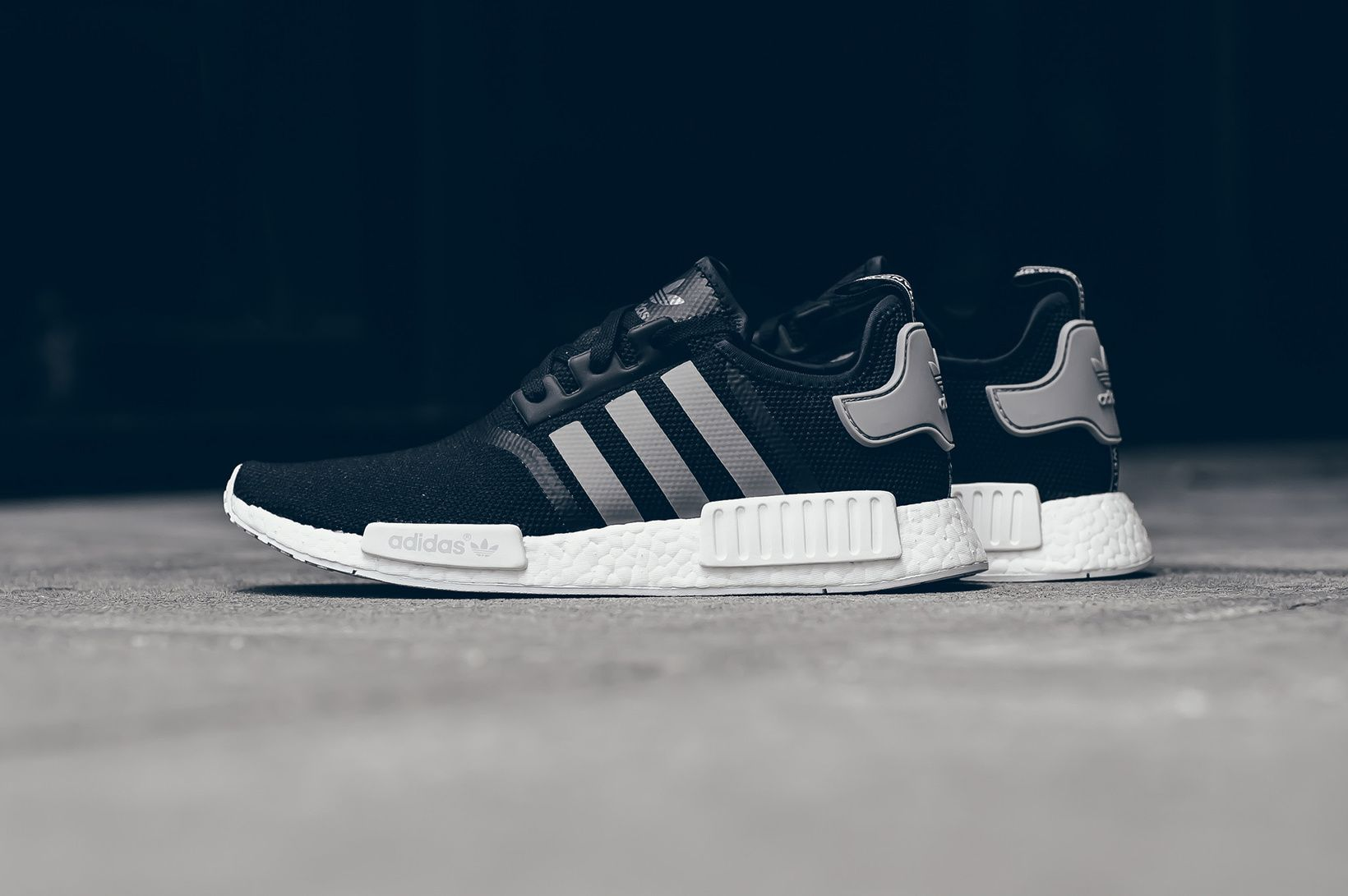 88a3ffbaf2e5 adidas Drops Another Black   White NMD