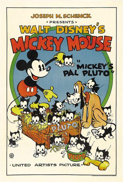 7000 3774 Walt Disney Mickey Mouse Disney Cartoons Pluto Disney