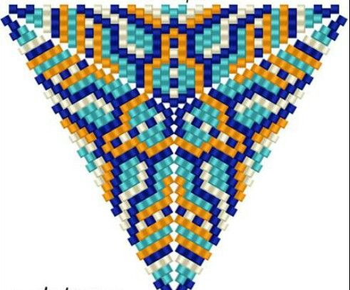 Schema peyote triangolo