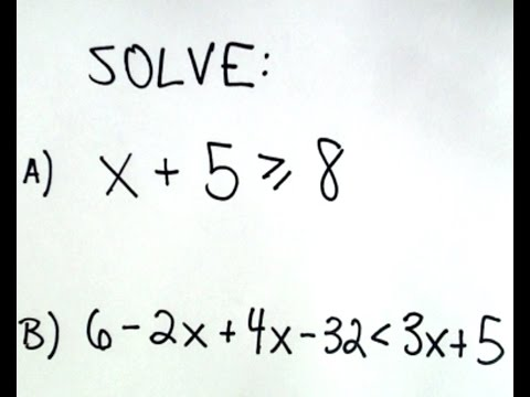 Solving Linear Inequalities Made Easy YouTube Linear