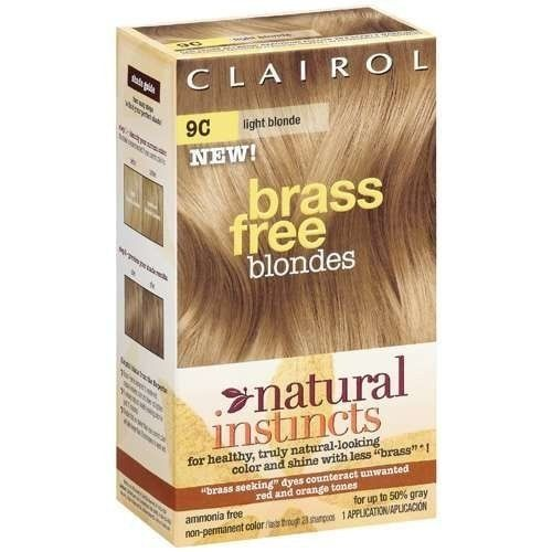 Clairol Natural Instincts 9c Light Blonde 2 Pk Reviews Find The Best After Shave Products Influenster Clairol Natural Instincts Clairol Light Blonde