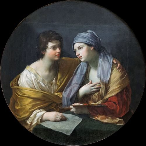 The Union of Drawing and Color (c.1620-c.1625).Guido Reni...