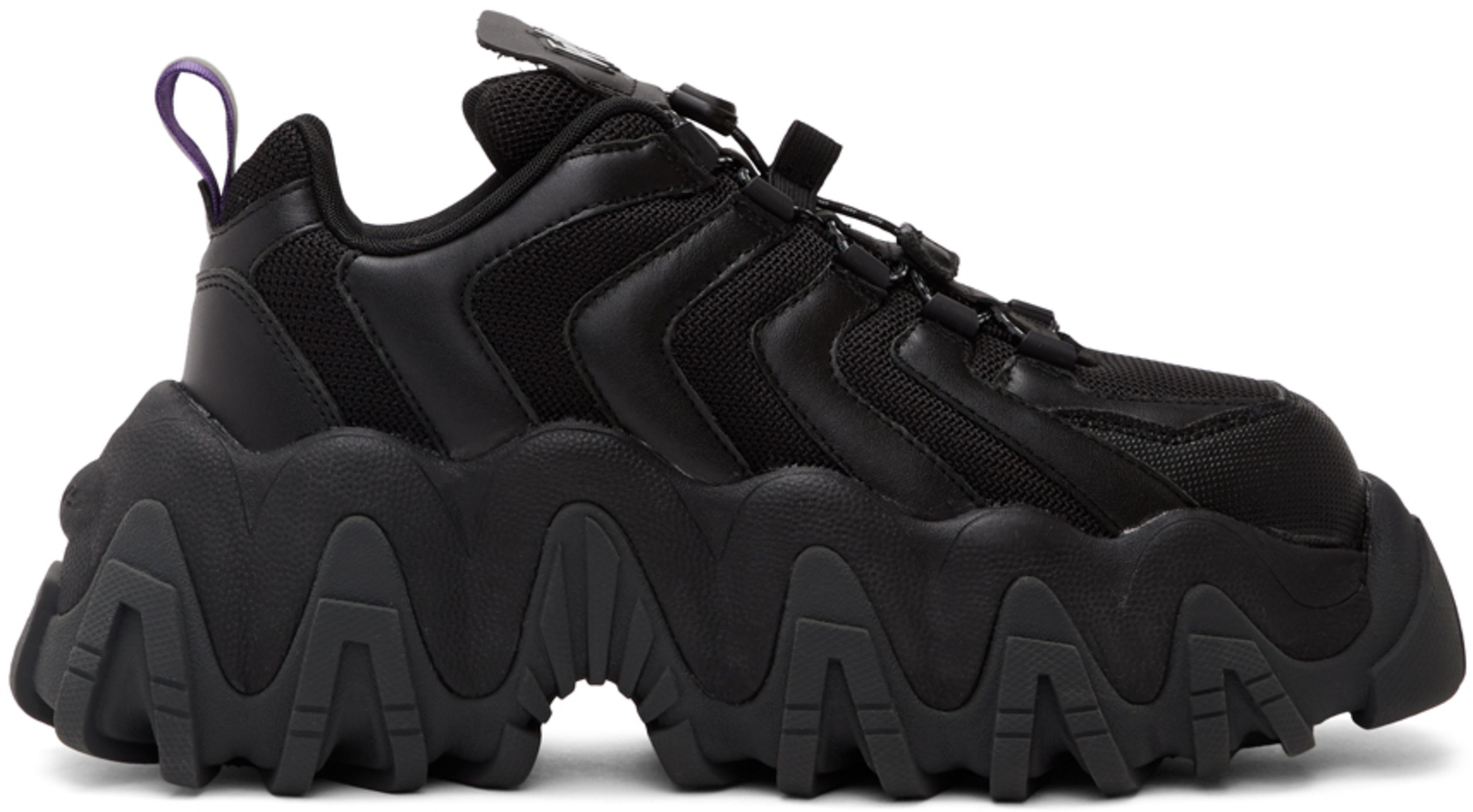 Eytys: Black Halo Sneakers   SSENSE in