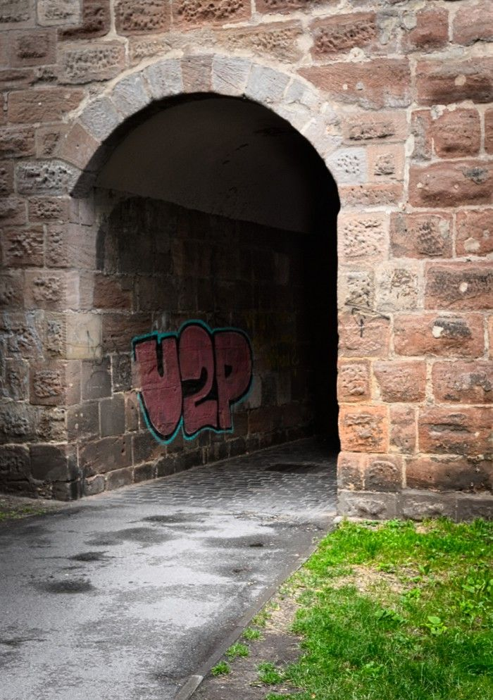 U2P Graffiti