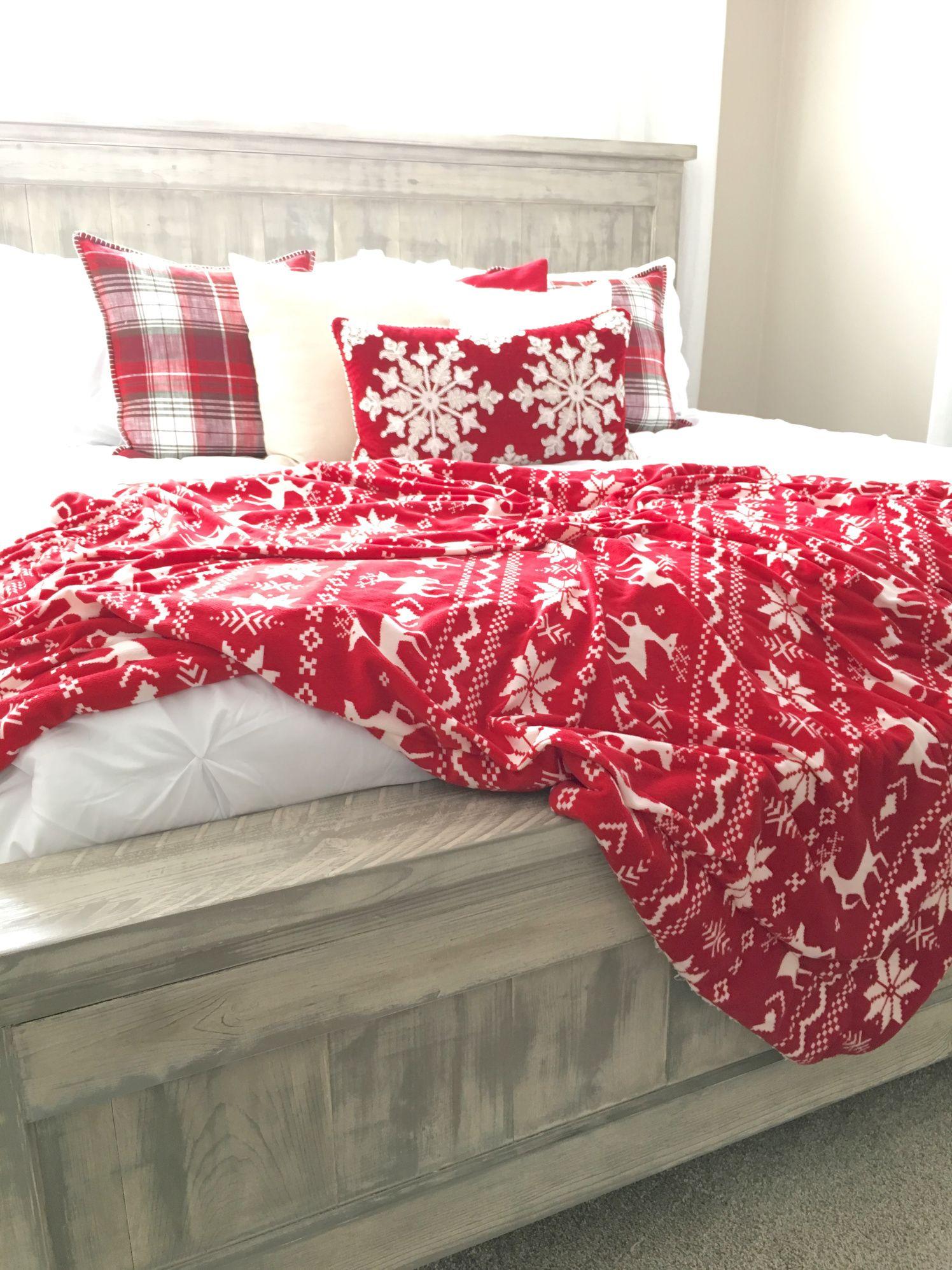 Ana White King Farmhouse Bed Farmhouse bedding