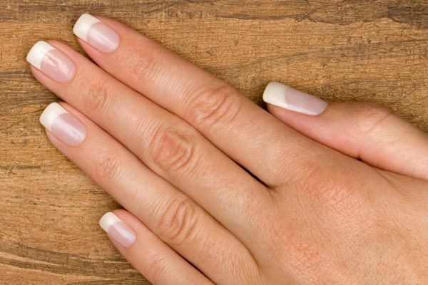 square french manicures