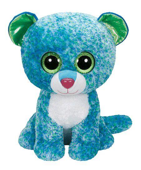 fbf65b24d7c Beanie Boos Leona the Blue Leopard Beanie Boo