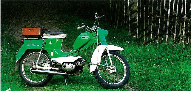 Vihreä Tunturi moped