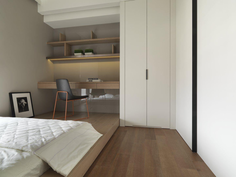 RESIDENTIAL珥本設計 Closet layout, Tall storage, Home