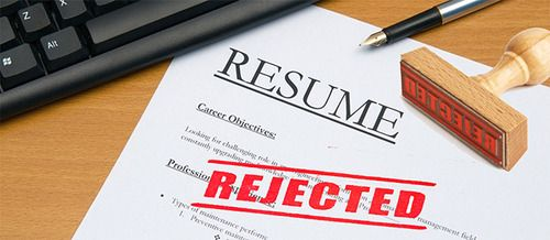 Main Reasons for Resume Fails Employment Tips