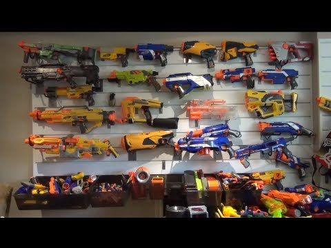 NERF Gun Lot/Arsenal N Strike Long Strike Vortex Nitron