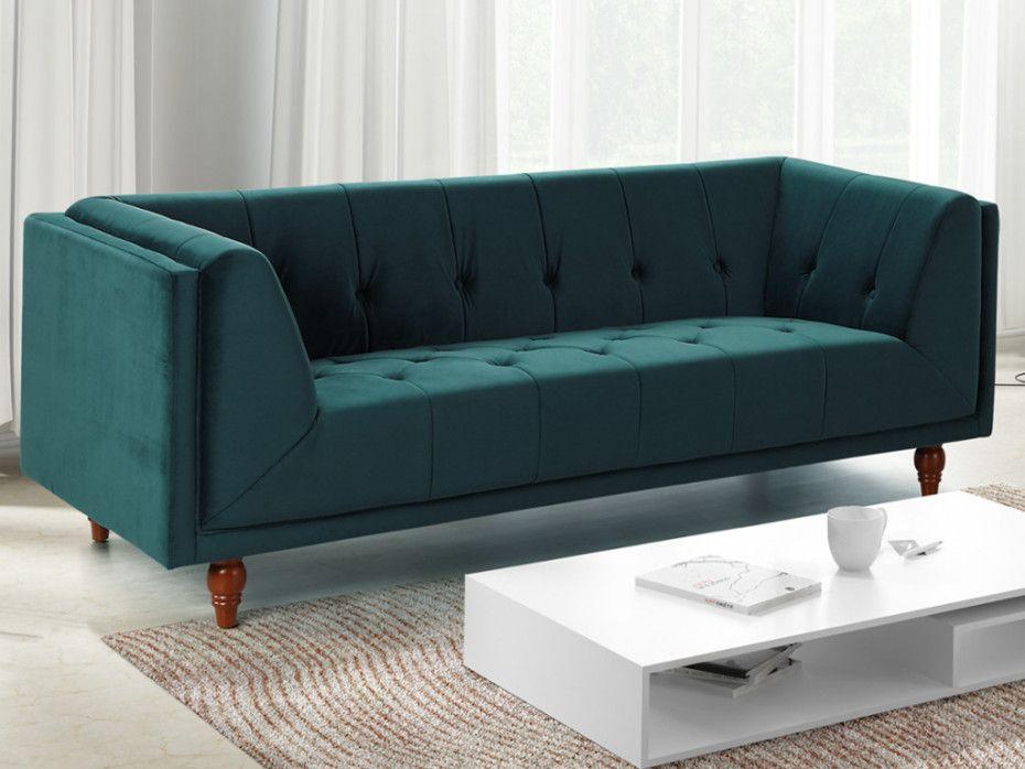 Sofa Und Sessel Aus Samt Benicio In 3 Farben Gunstig Sessel Sessel Mit Hocker Sofa