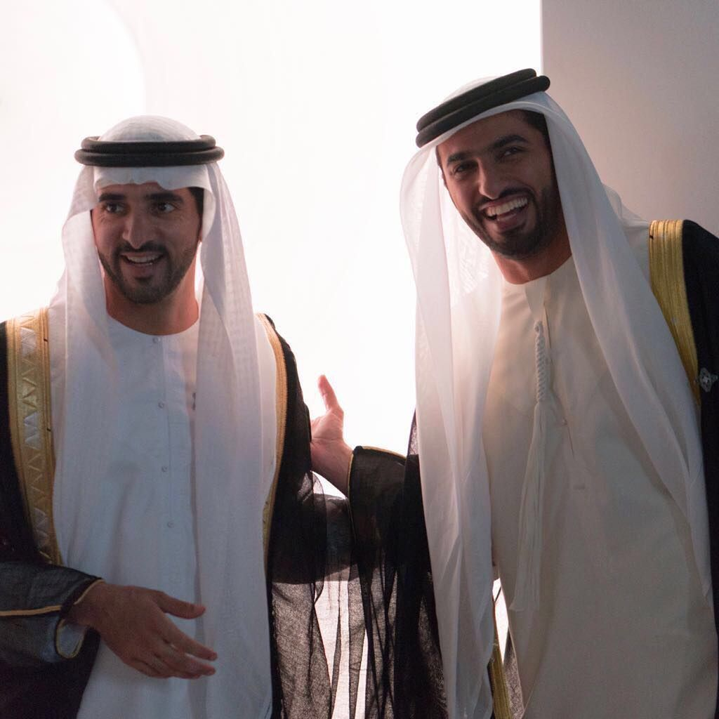 Faz3 Your Positivity Always Brings Joy To The Heart Arab Men Dark Eyes Royal Prince