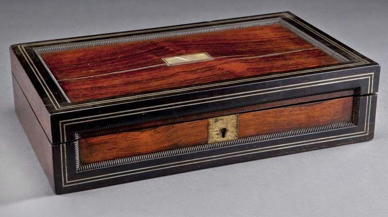 Vampire Hunter Kit Cased Vampire Killing Kit In A Rosewood And