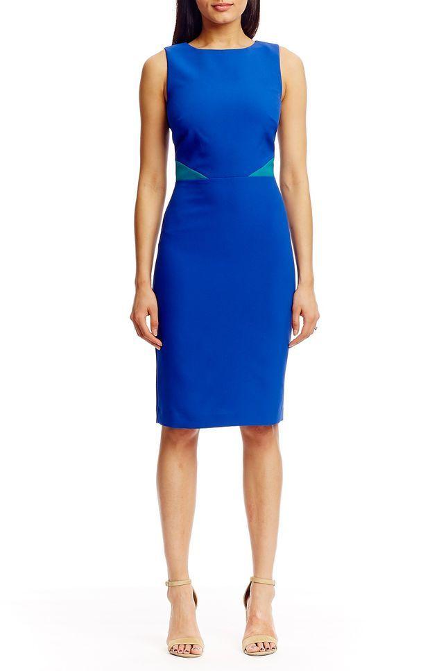 Combo Cutout Dress