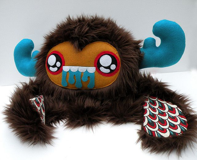 STUFF THIS large monster by loveandasandwich, via Flickr