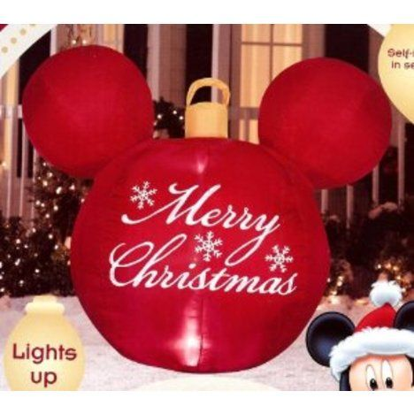 what kind of disney christmas lawn decorations do you use for the holidays - Mickey Mouse Christmas Lawn Decorations